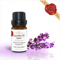 Organic Lavender Essential Oil - 10 ml (Bulgaria)