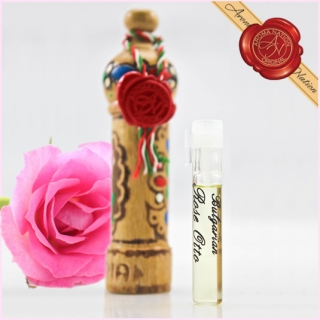 Rose Otto essential oil in Original Package (Bulgaria) - 1 ml